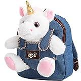 Unicorn Backpack for Girls Unicorn Toys for Girls Age 5 - Unicorns Gifts for Girls Unicorn Stuffed Animal for Girls - Cute Unicorn Plush Toys for 3 4 6 7 Year Old Girls Birthday Gift