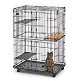 MidWest Cat Playpen / Cat Cage Includes 3 Adjustable...