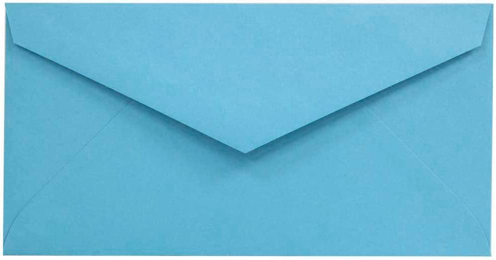 JAM PAPER Monarch Colored Envelopes - Online limited product 3 Recyc 1 Mesa Mall x 8 7 2 Blue