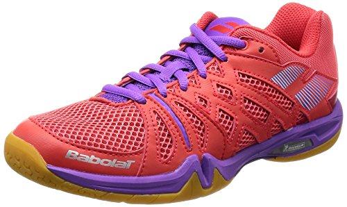Babolat Chaussures de Badminton Shadow Team Femme...