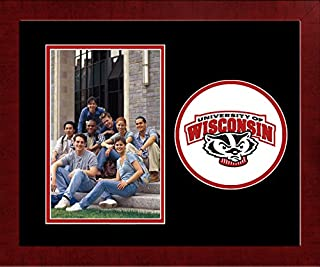 Campus Images W1995SLPFV Wisconsin Badgers Spirit Vertical Photo Frame