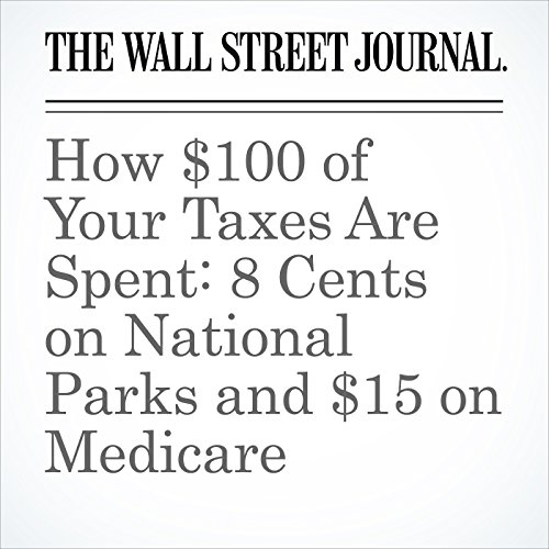How $100 of Your Taxes Are Spent: 8 Cents on National Parks and $15 on Medicare copertina