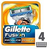 Gillette Fusion Proglide Power Lamette Di  Ricambio - 4 Ricariche...