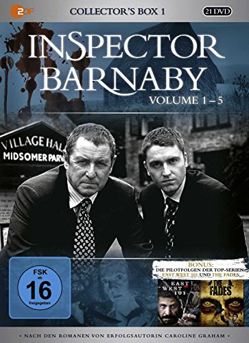 Inspector Barnaby - Collector's Box 1, Vol. 1-5 (20 Discs)