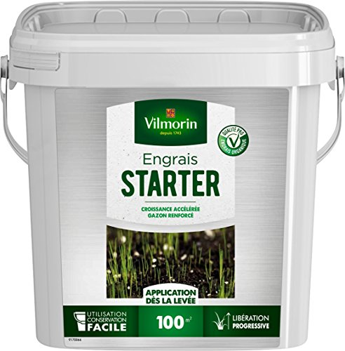 Vilmorin 6470916 Engrais Starter UAB, Vert, 20 x 27 x 30 cm