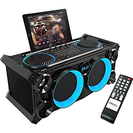 Ibiza 15 2530 Transportable Audio Sterepo Anlage Mit Batterie Bluetooth Usb Sd Und Fm Tuner Musikinstrumente