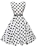 F-pump Plus Size Clothing Summer Pin Up Polka Dot Dresses Party Office Ball Gown Robe Sexy Vintage B...