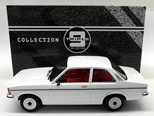 Opel Kadett C Limousine, weiss, Modellauto, Fertigmodell, Triple 9 Collection 1:18