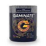 GAMINATE® - Professioneller Performance Booster   Neue Art von Energie und Konzentration   Ohne Zucker   Wenig Kalorien   12 aktive Wirkstoffe   315g   30 Portionen (Mango)