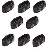 8 Piezas Cinturón de Nailon con Doble Cierre, Cinturón con Doble botón para Equipo Militar de policía