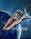 Star Wars Republic Frigate UCS Venator Class Star Destroyer Building Kit MOC Model Toys Gift to Adults (2853 PCS)