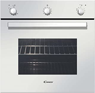 Candy FLG202/1W Gas natural 54L Blanco - Horno (Gas natural, 54 L, 54 L, Blanco, Giratorio, Frente)