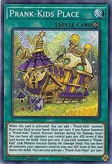 Yu-Gi-Oh! Singles - Prank-Kids Place - HISU-EN023 - Secret Rare - 1st Edition - Hidden Summoners