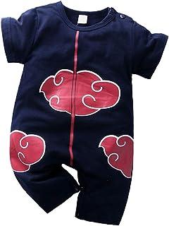 Sweet&rro17 Sweet&rro17 Anime Naruto Akatsuki Kinder Strampler Baby Body Romper Kleidung Jungen Mädchen3-6 Months