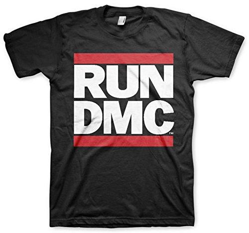 Run DMC Logo tee T Shirt T-Shirt Merchandise Merch Hip Hop Rap Herren Men