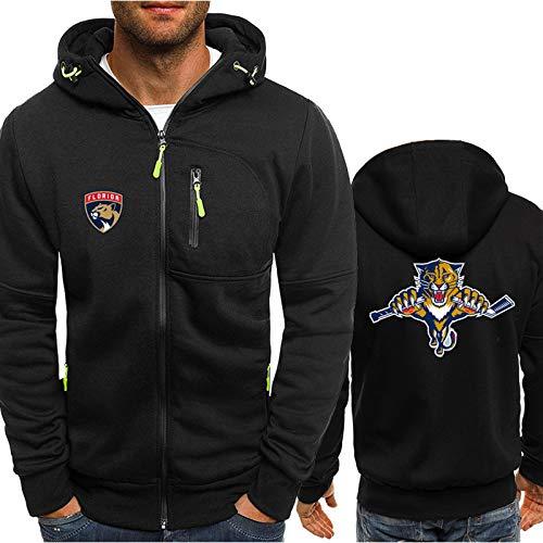 GLZTY Hoodie NHL Sweatshirt Calgary Flames/Florida Panthers/Detroit Red Wings Herren Eishockey Hoodie mit Reißverschluss Kapuzenpullover Pullover Trikots