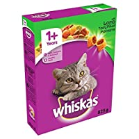 Whiskas Cat Complete Dry with Lamb 825g 825g Whiskas Quantity: 1