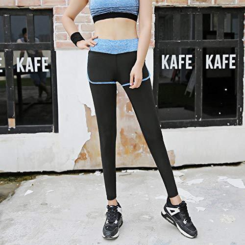Sportbroek voor dames en leggings De tweedelige fitnessbroek voor sporten tijdens het hardlopen in de herfst was een dunne en droge melkbroek.