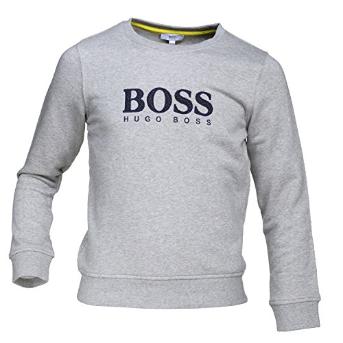 Hugo Boss Kids Boys Grey Sweater 4 Years