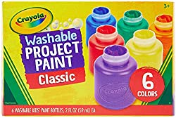 Washable Project Paint for Kids
