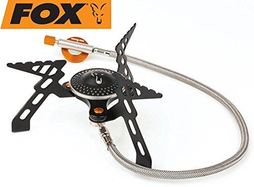 Fox Cookware Compact 3000 Stove - Gaskocher zum Kochen am Wasser, Kochplatte zum Karpfenangeln & Wallerangeln, Campingkocher