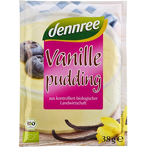 dennree Vanille-Puddingpulver (114 g) - Bio