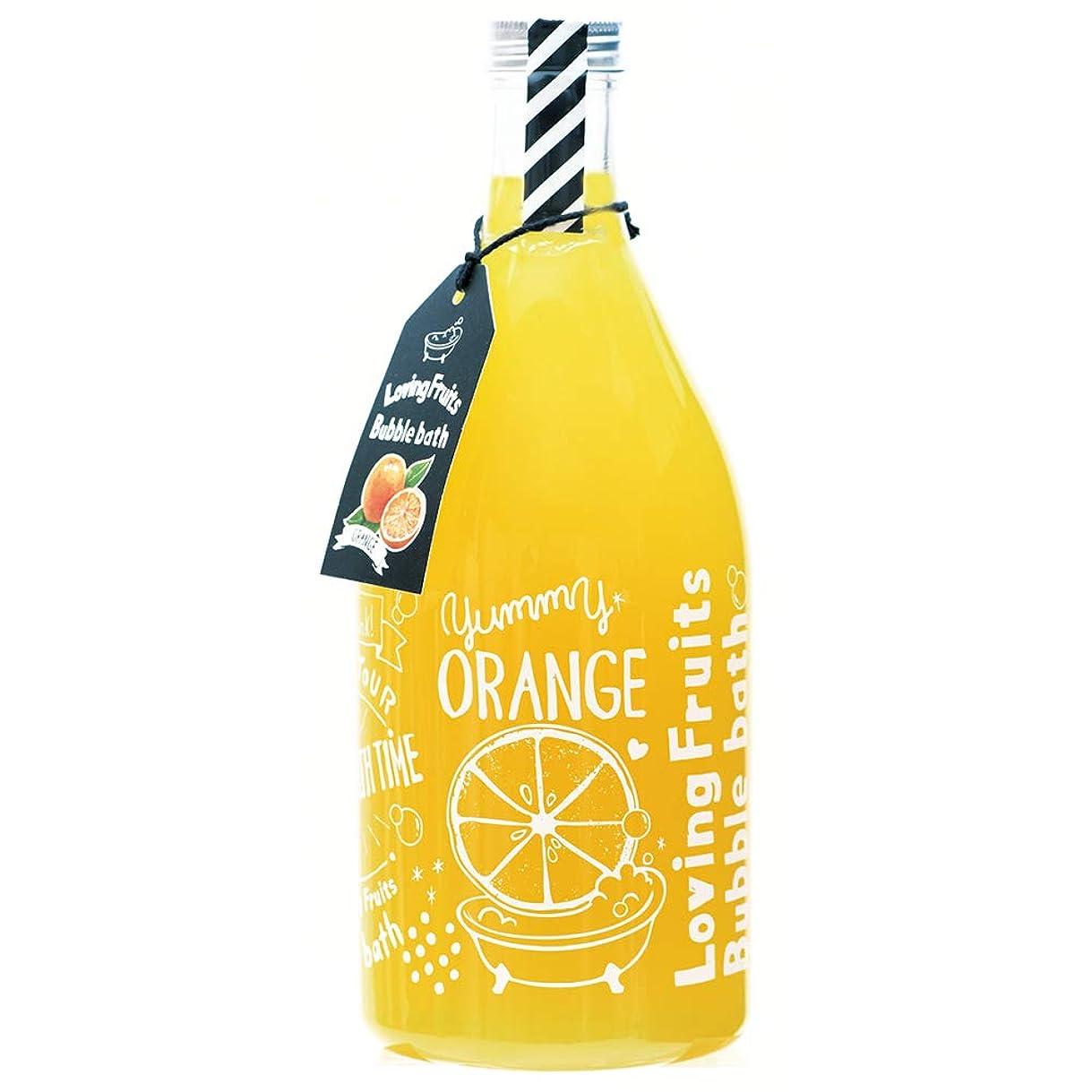 仮定ピル試してみるノルコーポレーション 入浴剤 バブルバス ラビングフルーツ 750ml オレンジの香り OB-LFS-1-2