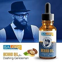 GALORE Organic Beard Hair Growth Oil with Argan Oil and Vitamin E For Mens- 30 ml