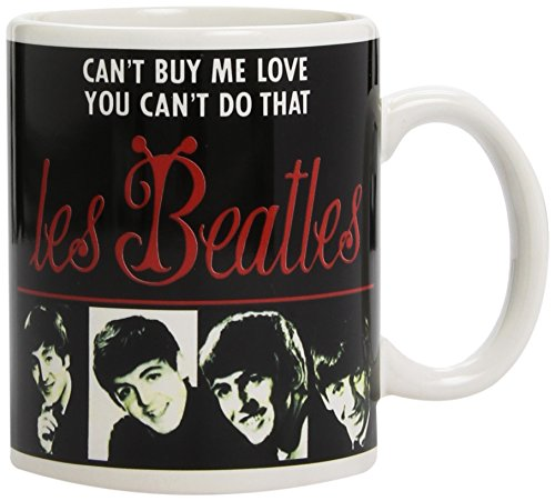 Rock Off 09485 - Taza, diseño Les Beatles - Taza Les Beatles