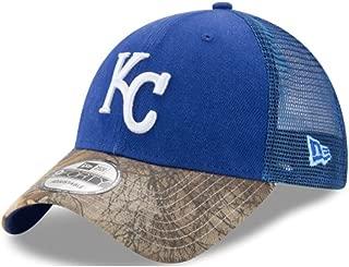 New Era Kansas City Royals Realtree Team Trucker 9FORTY Snapback Adjustable Hat/Cap