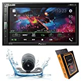 Pioneer AVH-310EX Double-DIN 6.8-inch in-Dash Car DVD Receiver with Built-in Bluetooth with HD Backup Camera and Gravity Mobile Phone Holder