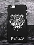 G¨¦n¨¦Rique Kenzo iPhone 7 8 Coque, Hard Plastic Phone Housse Coque for iPhone 7 8 Kenzo Paris, Noir
