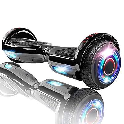 XPRIT Hoverboard w/Bluetooth Speaker (Metal Black)