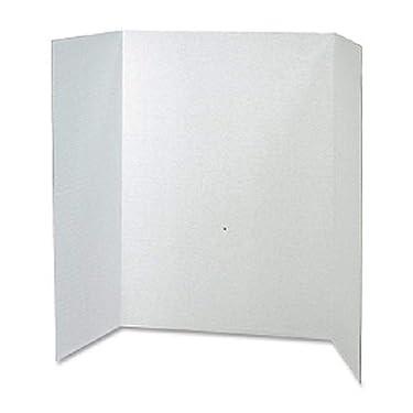 "RiteCo 22128 Tri-fold Display/Presentation Boards, 40""x28"", White, (Pack of 30)"
