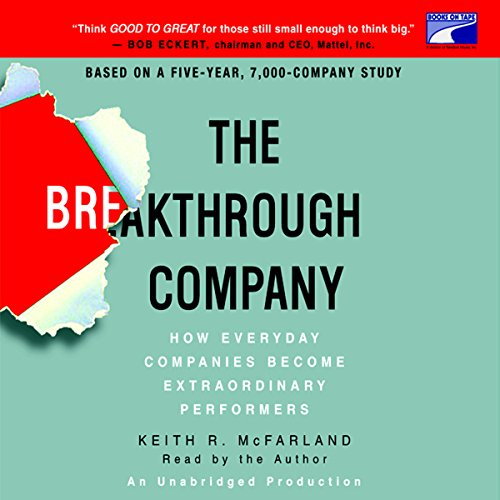 The Breakthrough Company audiobook cover art