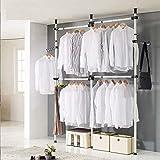 GHJA Haken, Aufhängung verstellbar Ausziehbare Kleidung der Aufhängung Selbstgemacht 4-polig,...