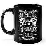 N\A Taza para Profesores de natación, Regalos, Taza de café de...