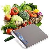 GUOCAO De Acero Inoxidable Digital USB Báscula De Cocina Electrónica De Precisión De Alimentos Dieta Báscula Para Cocinar Herramientas De Medida