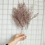 Flores Artificial Hierba De Bambú Plantas Artificiales Guirnalda Decoración De Pared para El Hogar Decoración De Bodas Plantas Artificiales para Decoracion Café