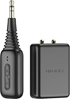 $29 » Hagibis Inflight Bluetooth 5.0 Transmitter & Receiver, 2 in 1 Wireless Audio 3.5mm Jack AUX Adapter, for Airplane/TV/PC/Ca...