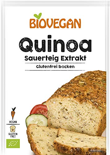 Biovegan Bio Quinoa Sauerteig Extrakt, BIO (6 x 20 gr)