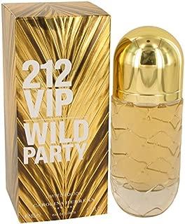 212 VIP WILD PARTY by Carolina Herrera 2.7 Ounce / 80 ml Eau de Toilette Women Spray Limited Edtion