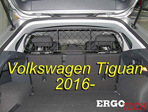 ERGOTECH Trennnetz Trenngitter RDA65-S8 kvw023, für Hunde und Gepäck. Sicher, komfortabel für Ihren Hund, garantiert!