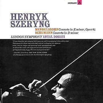 Mendelssohn: Violin Concerto / Schumann: Violin Concerto