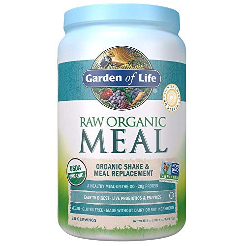 Garden of Life Raw Organic Meal Replacement Powder - Lightly...