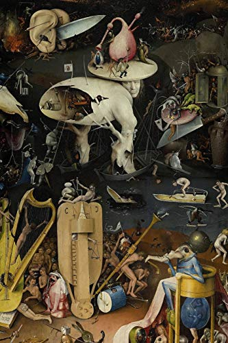"Hieronymus Bosch Journal #9: Cool Artist Gifts - The Garden of Earthly Delights Hieronymus Bosch Notebook Journal To Write In 6x9"" 150 Lined Pages"