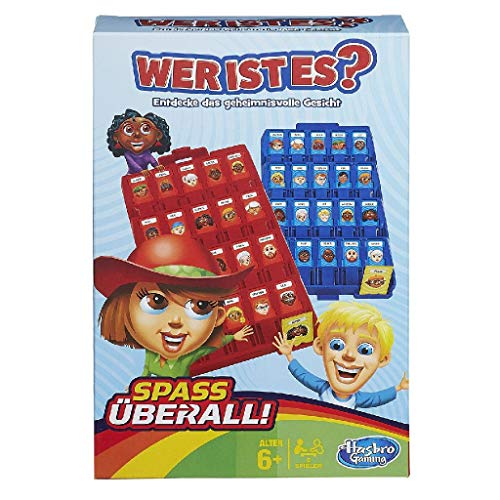 Hasbro B1204103 - Reisespiel Guess Who, deutsche Version