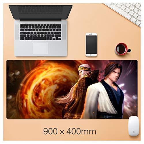 ACG2S Gaming Mouse Pad 900x400x3mm Tischset, Keyboard-Matte, groß, dick, Rutschfest, langlebig, wasserdicht, Anime Muster, China Spiele-7