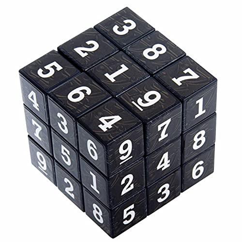 GOODS+GADGETS Sudoku Würfel Sodoko Rätsel Sodoku Puzzle Sudokowürfel 55mm