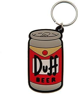Los Simpson - Llavero lata de Duff